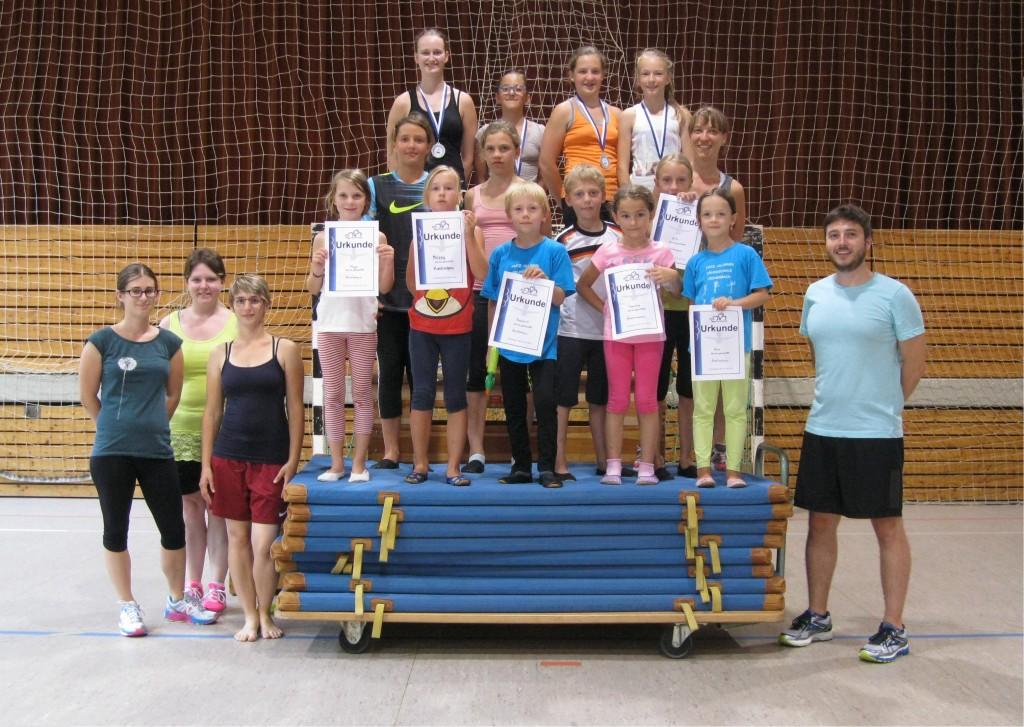 RSV Fischerbach Sommerferienabschluss 2015 l